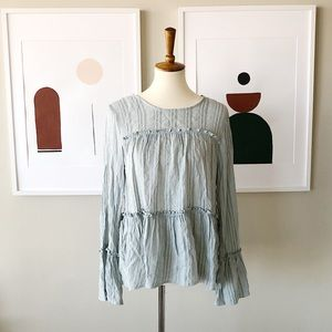 NWT Loveriche Blouse Size Large